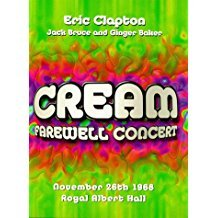 cream - farewell concert november 26th 1968 royal albert hall DVD 1999 image used mint