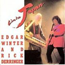 edgar winter and rick derringer - live in japan CD autographed 1990 cypress goldcastle 13 tracks