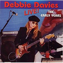 debbie davies - live! the early years CD autographed 2003 8 tracks used mint