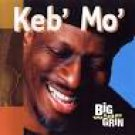keb' mo' - big wide grin CD 2001 sony okeh 12 trcaks used mint