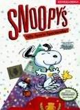 snoopy's silly sports spectacular! - nintendo NES 1989 kemco used