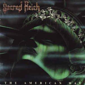 sacred reich - american way CD 1990 enigma metal blade 8 tracks used