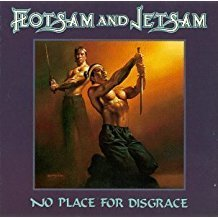 flotsam and jetsam - no place for disgrace CD 1988 elektra 10 tracks used mint
