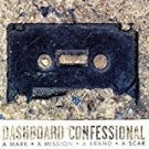 dashboard confessional / REM - a mark a mission a brand a scar CD + DVD 2004 vagrant MTV used mint