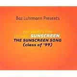baz luhrmann presents everybody's free (to wear sunscreen) CD single 1999 bazmark 3 tracks used mint