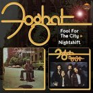 foghat - fool for the city + night shift CD 2012 edsel demon 15 tracks used mint