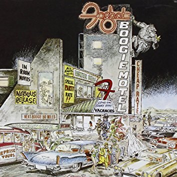 foghat - boogie motel CD 1979 2006 wounded bird 7 tracks used mint