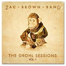 zac brown band - grohl sessions vol. 1 limited collector's edition CD + DVD 2014 no reserve