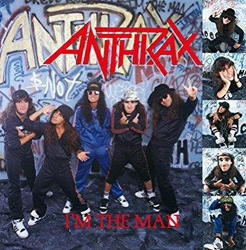 anthrax - i'm the man CD 1987 island mega force 6 tracks used mint