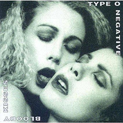 type o negative - bloody kisses CD 1993 all blacks roadrunner used mint