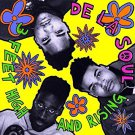 de la soul - 3 feet high and rising CD 2-discs 1989 tommy boy 24 tracks used mint