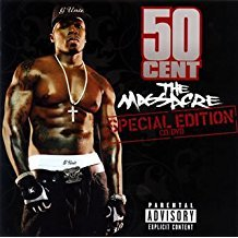 50 cent - the massacre - special edition CD + DVD 2005 shady aftermath used mint