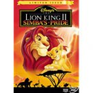 lion king II simba's pride - limited issue DVD disney 75 minutes used mint
