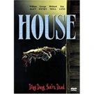house - william katt + george wendt DVD 2-discs 2001 anchor bay 92 mins R used