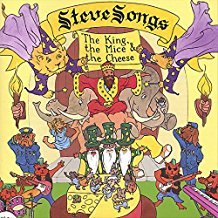 steve songs - the king the mice & the cheese CD 2001 stevesongs 13 tracks used mint