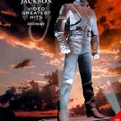 michael jackson - video greatest hits - history DVD 2000 EVO 50123 epic 75 minutes used mint
