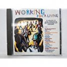 working for a living - various artists CD 1997 scotti bros 12 tracks used mint