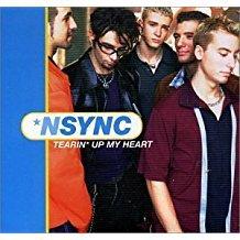 nync - tearin' up my heart CD single 4 tracks RCA used mint