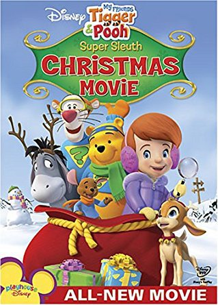 my friends tigger & pooh super sleuth christmas movie DVD disney 44 minutes used mint
