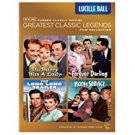 TCM greatest classic legends - lucille ball DVD 4-movies on 4-discs 2011 warner used mint