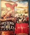 history of the world part I + robin hood men in tights DVD 2-discs 2010 20th century fox used mint