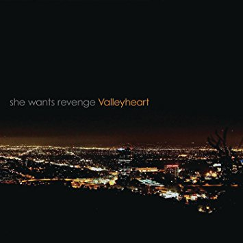she wants revenge - valleyheart  CD 2011 five seven music 10 tracks new