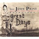 john prine - anthology: great days CD 2-discs 1993 rhino 40 tracks used