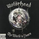 motorhead - the world is yours CD + DVD 2010 UDR used mint