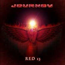 journey - red 13 CD ep journey music 4 tracks used mint