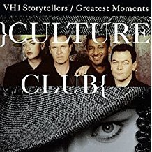 culture club - VH1 storytellers / greatest moments CD 2-discs 1998 virgin used mint