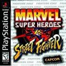 playstation - marvel super heroes vs street fighter 1999 capcom Teen used mint