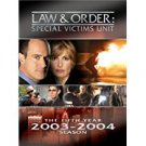 law & order special victims unit - fifth year 2003 - 2004 season DVD 4-discs 2004 universal used