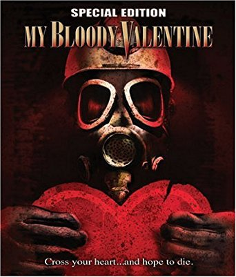 my bloody valentine - special edition Bluray widescreen 2009 lionsgate R 90 mins used mint