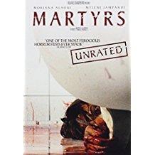 martyrs - moriana alaoui + mylene jampanoi DVD 2009 weinstein company NR 100 mins used mint