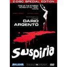 suspiria - 2-disc special edition DVD 2007 blue underground NR 98 mins used mint