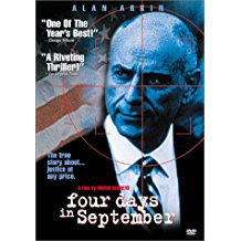 four days in september - alan arkin DVD 1997 miramax 106 mins used