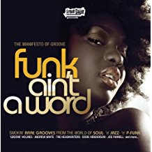 funk ain't a word - various artists CD 2008 brown sugar zyx 13 tracks used