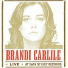 brandi carlile - live at easy street records CD 2001 columbia 7 tracks used mint