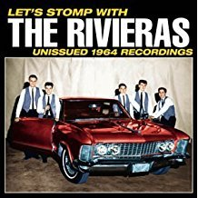 rivieras - let's stomp with the rivieras - unissued 1964 recordings CD 2000 norton used mint