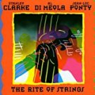 stanley clarke + al dimeola + jean-luc ponty - rite of strings CD 1995 I.R.S. 9 tracks used mint
