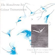 monochrome set - colour transmission CD 1980 dindisc and din song 21 tracks used mint