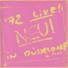 neu! - '72 live! CD 1996 captain trip records japan 3 tracks used mint with obi