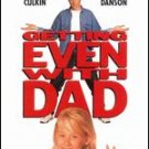 getting even with dad - macaulay culkin + ted danson DVD 1994 2001 MGM 109 mins PG