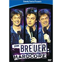 jim breuer - hardcore DVD 2002 comedy central 60 mins used mint