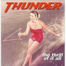 thunder - thrill of it all CD 1996 victor japan 12 tracks used mint