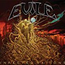evile - infected nations CD 2009 earache 9 tracks used mint