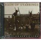 rash of stabbings - shell shocked ride CD 1990 vild records rough trade 12 tracks used mint