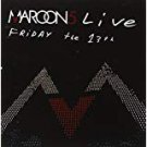 maroon 5 live - friday the 13th CD + DVD 2005 octone BMG Direct new