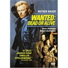 wanted: dead or alive - rutger hauer DVD 2001 anchor bay 106 mins R used mint