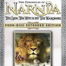 narnia the lion the witch and the wardrobe - four disc extended edition DVD 2006 disney used mint
